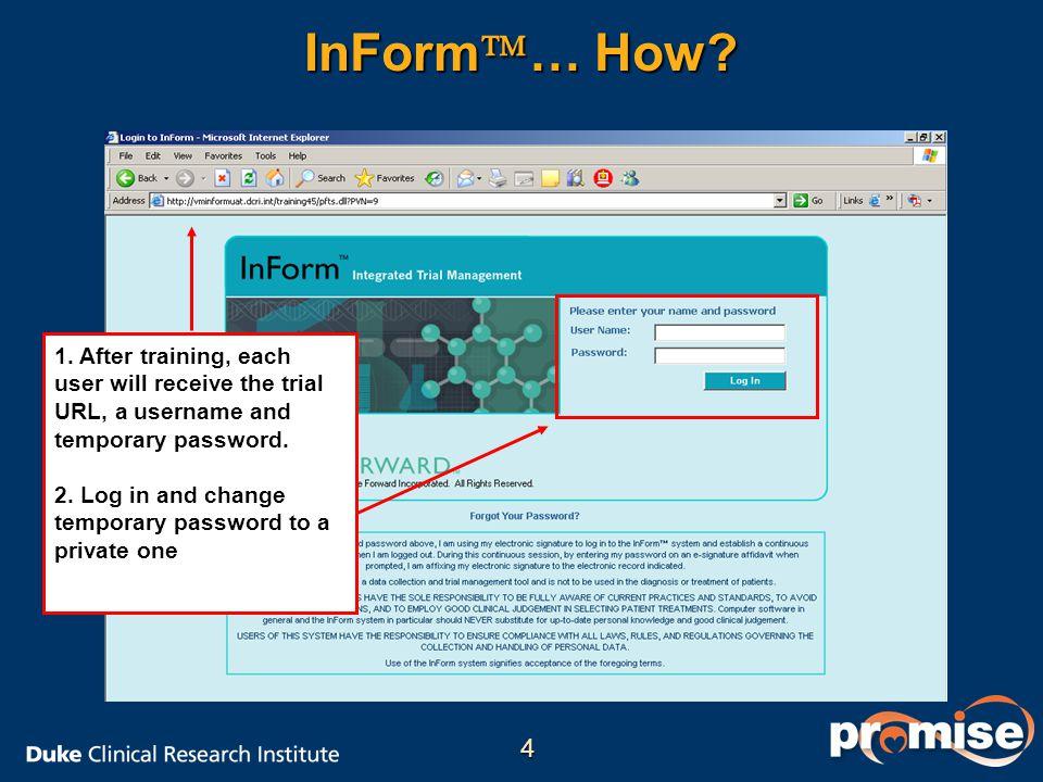 InForm  … How.1.