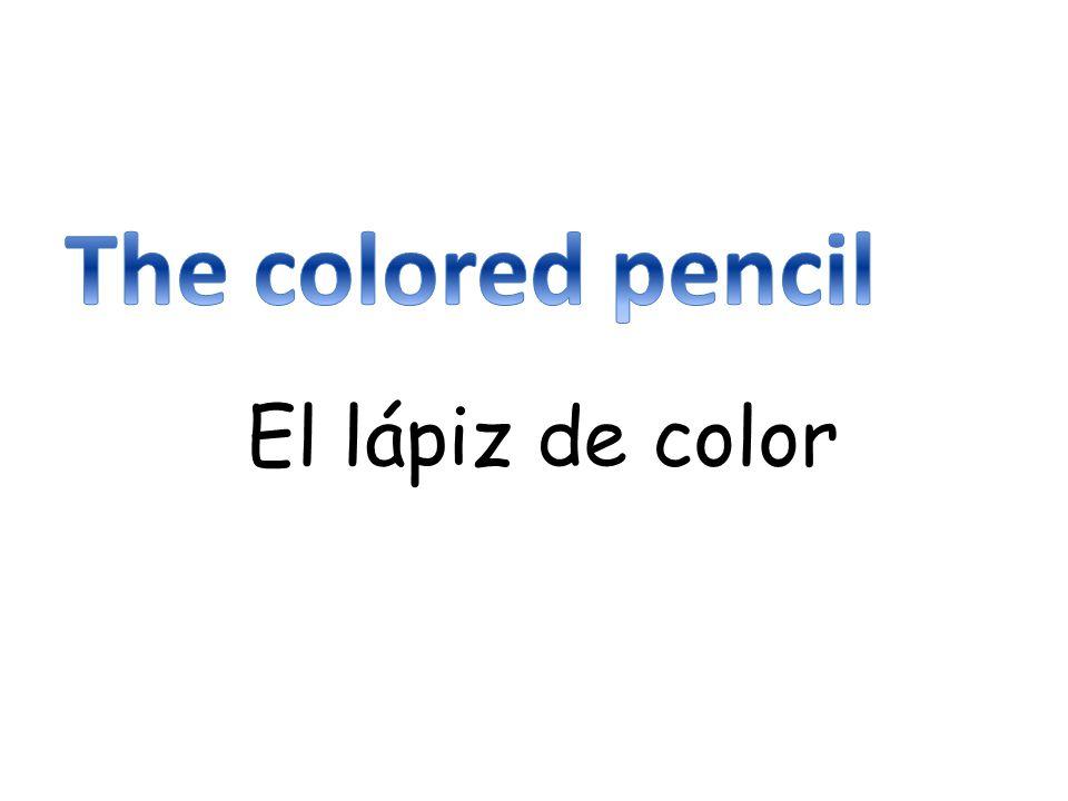 El lápiz de color