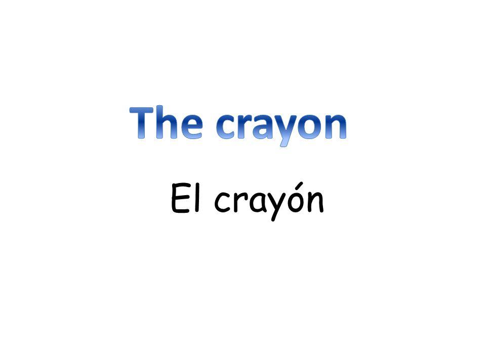 El crayón