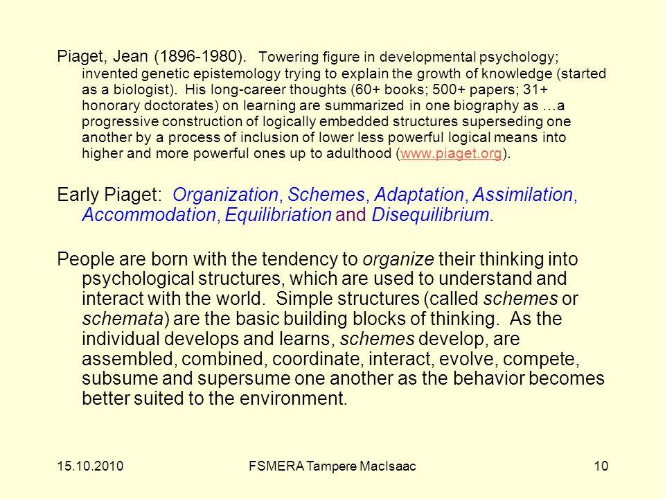 Piaget, Jean (1896-1980).
