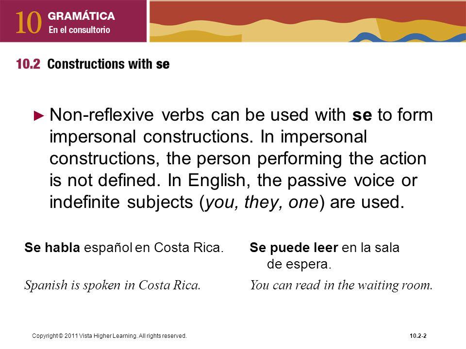 Copyright © 2011 Vista Higher Learning.
