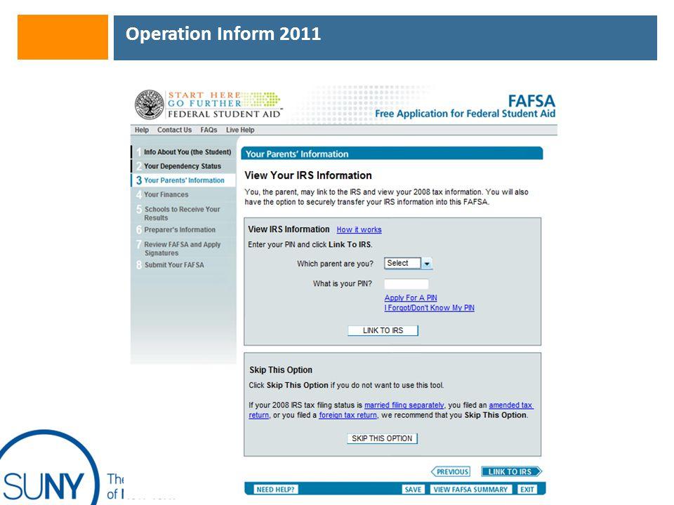 Operation Inform 2011