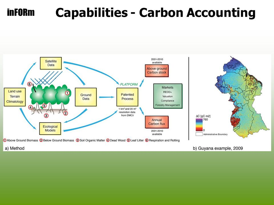 inFORm Capabilities - Carbon Accounting