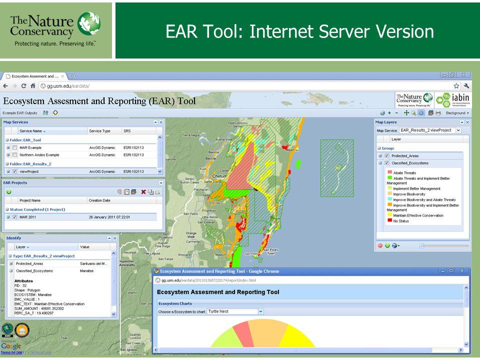 EAR Tool: Internet Server Version