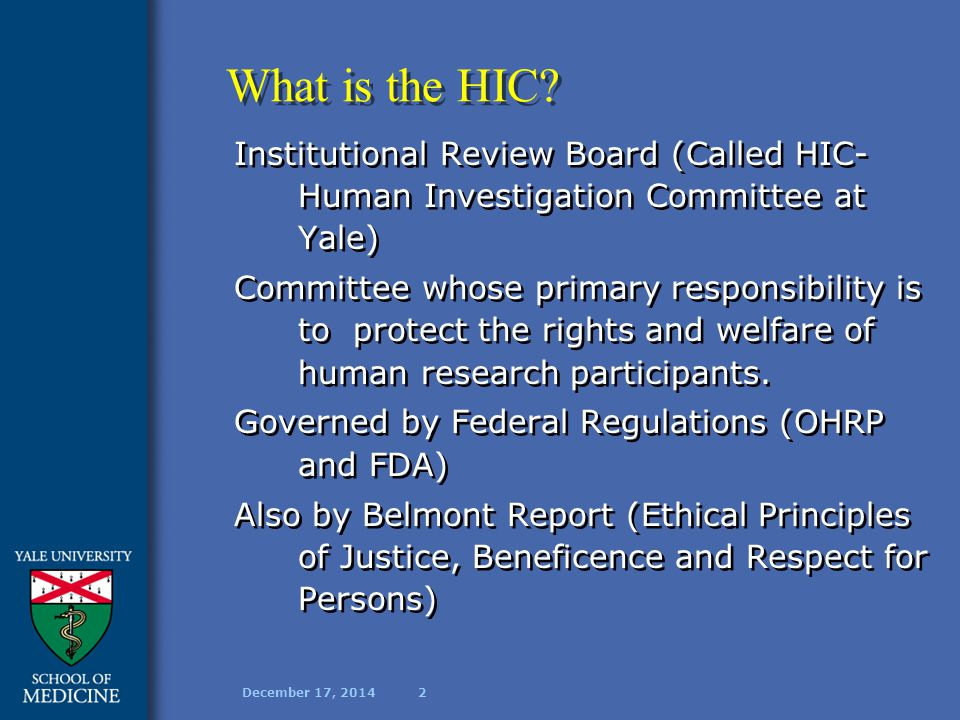 December 17, 20143 What is Informed Consent.