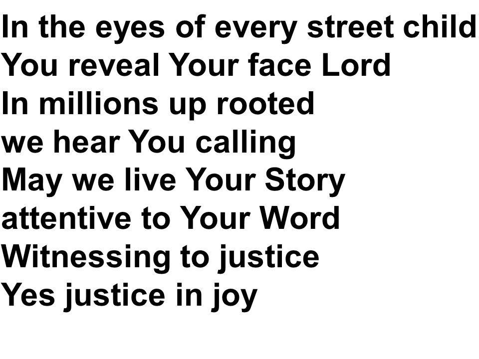 Dalam ragam agama Kau hunjuk kebenaran Dalam keajaiban tampak terangMu S moga kami hidup seturut FirmanMu Gembira melangkah bersama Yesus