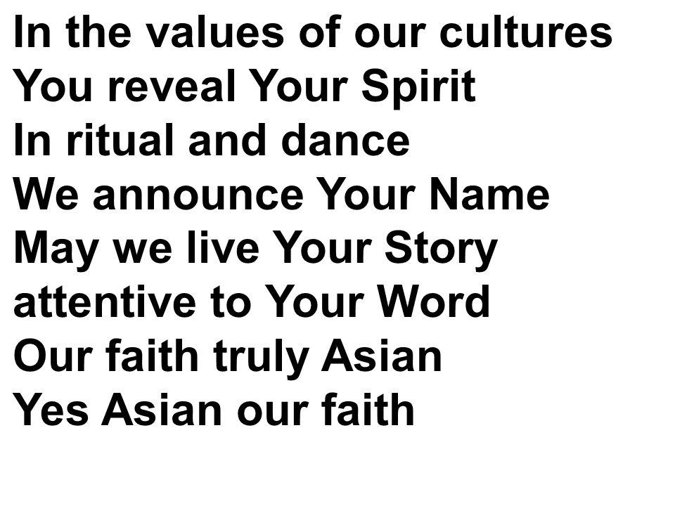 Dalam kidung puji syukur Kau satukan kami Dalam doa dan karya maklumkan iman S moga kami hidup seturut FirmanMu Jadi insan Paskah harapan kekal