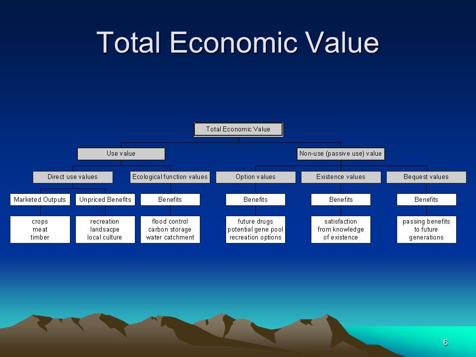 6 Total Economic Value