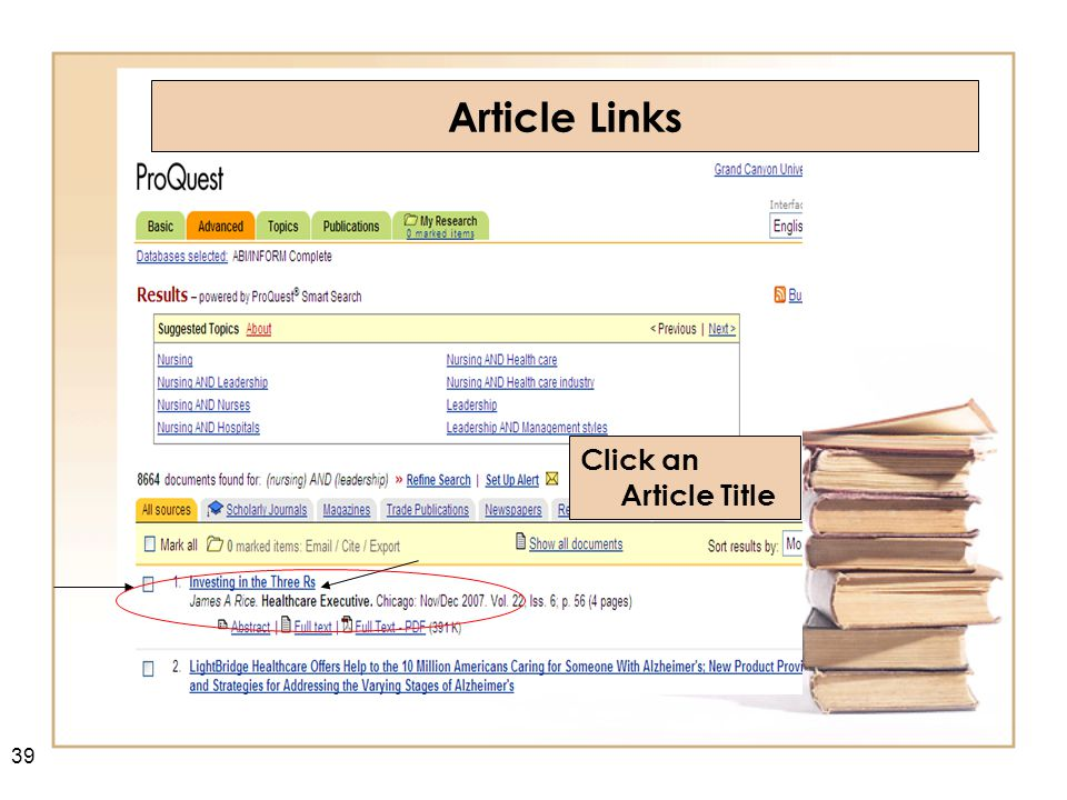 Click on Copy Link Copy / Paste URL into your document / curriculum 40