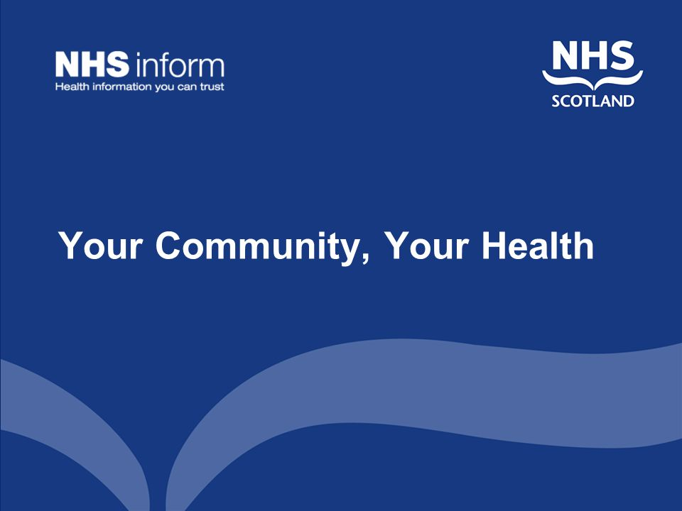 Your Community, Your Health