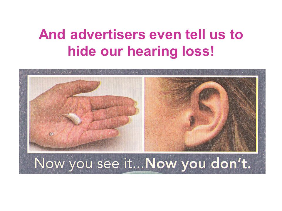 Speaking Out Going Public We complain that the community at large isn't aware of hearing-loss concerns, so it's up to us to educate them.