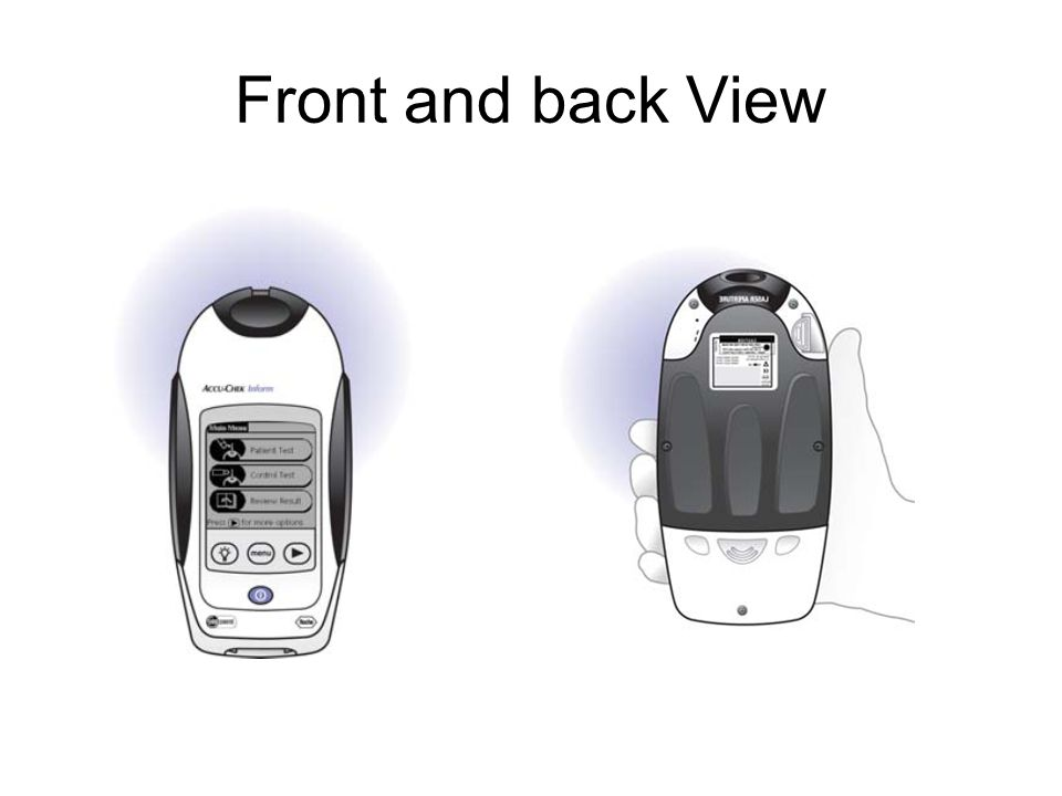 Documenting in PCS that you have done the glucometer test The results will flow directly to the EMR from the Accu- Chek meter, therefore it will be unnecessary to document the results in PCS on the Blood Glucose Assessment .