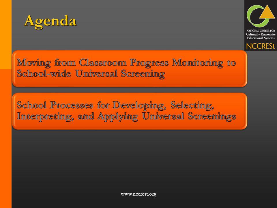 www.nccrest.org Agenda