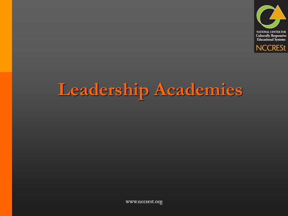 Leadership Academies