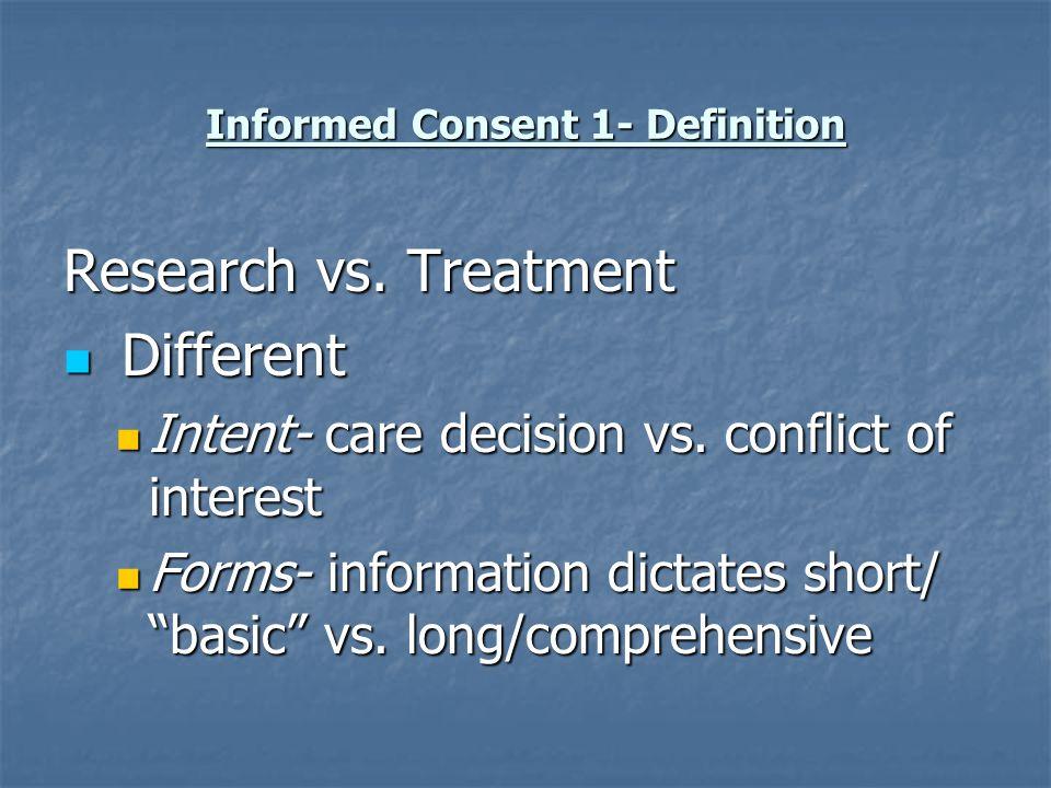 Informed Consent 1- Summary Pesticide Handlers Need appropriate information appropriate information understandable language understandable language