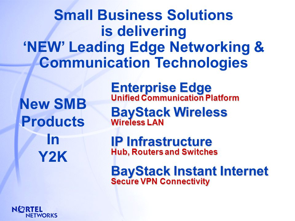 SBS has an unparalleled 'Portfolio' of solutions to match a wide variety of existing and evolving SMB customer requirements Digital TelephonyIP Infras
