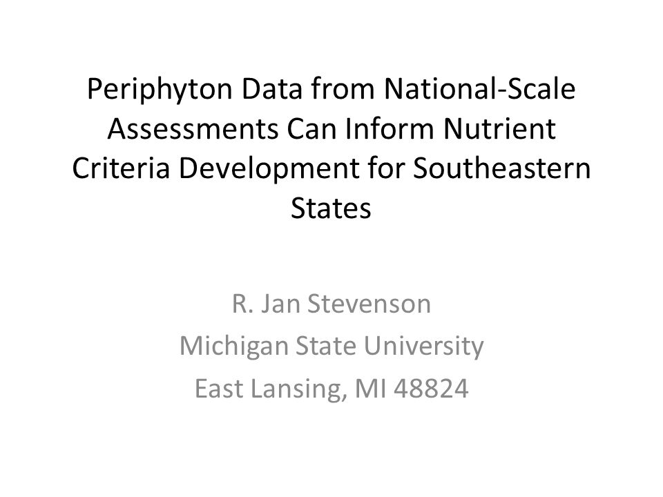 Weighted Average Metric Better Related to Land Use than Indicator Species Metrics