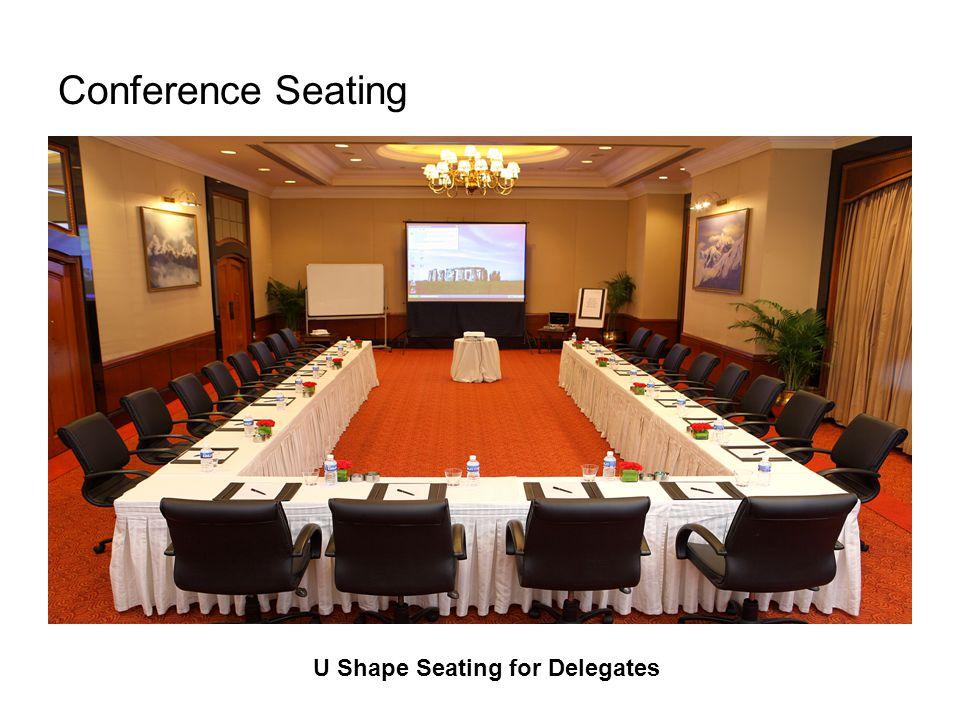 Conference Seating U Shape Seating for Delegates