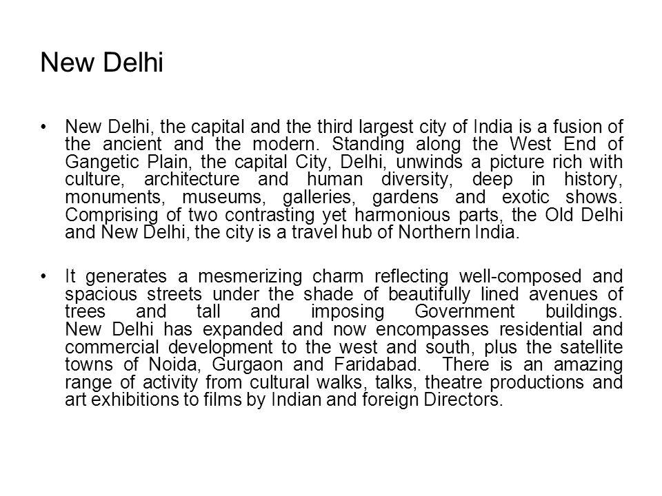 New Delhi Area : 1483 sq.