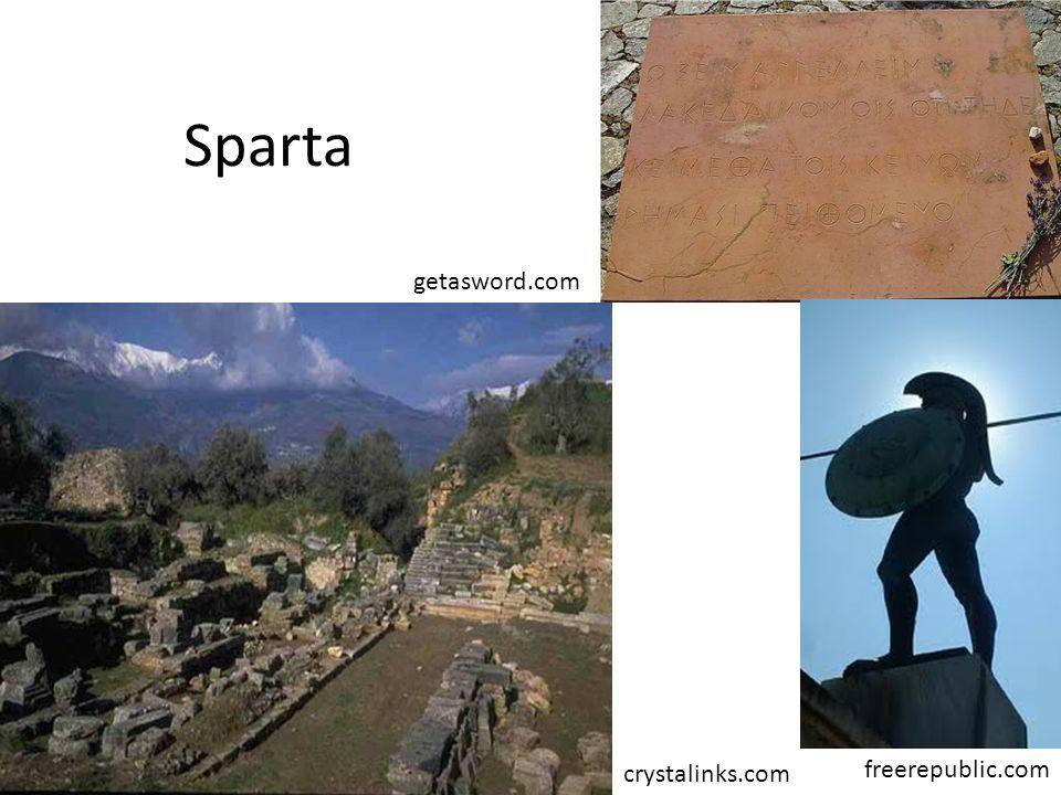Sparta freerepublic.com getasword.com crystalinks.com