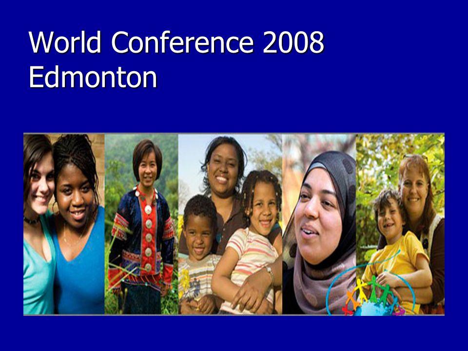 World Conference 2008 Edmonton