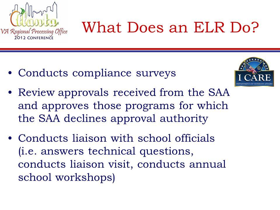 What Should a School's VA File Contain.