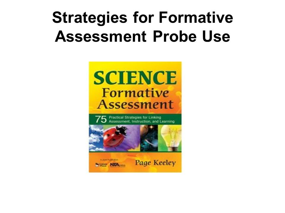 Strategies for Formative Assessment Probe Use