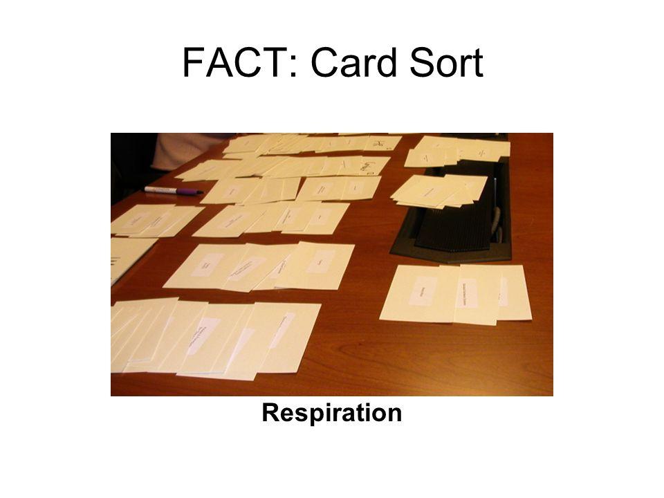FACT: Card Sort Respiration