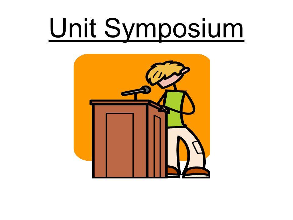 Unit Symposium