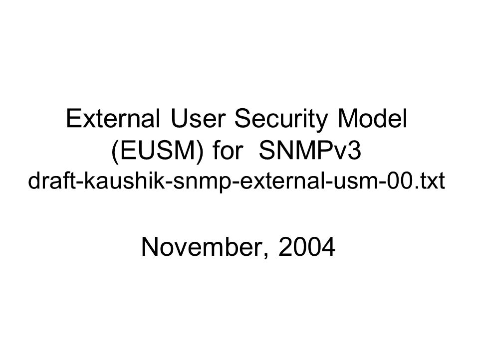 Key Caching Session keys are cached at the SNMPv3 agent typically for duration of 90-180 seconds.