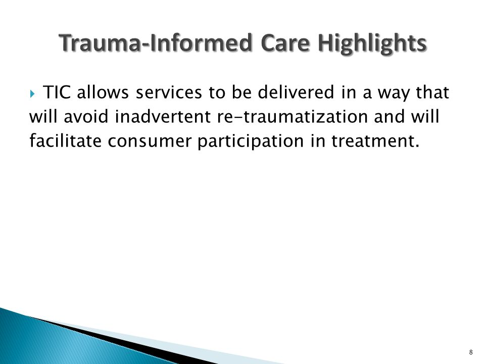  Safety: Ensure physical and emotional safety of staff throughout our system of care.