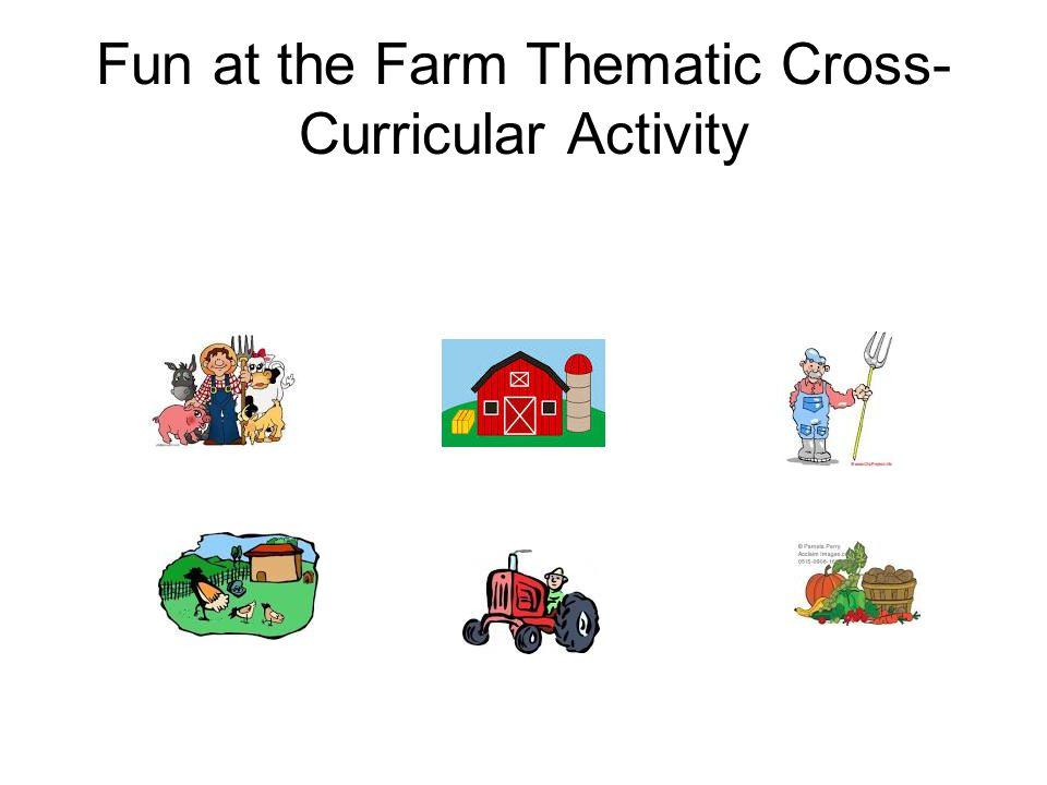 Farm Language Arts Cross- Curricular Connection Children's Literature-Barnyard Dance