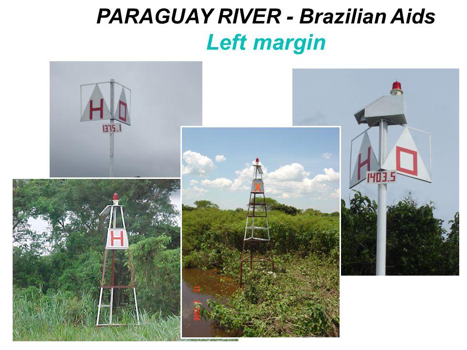 PARAGUAY RIVER - Brazilian Aids Left margin