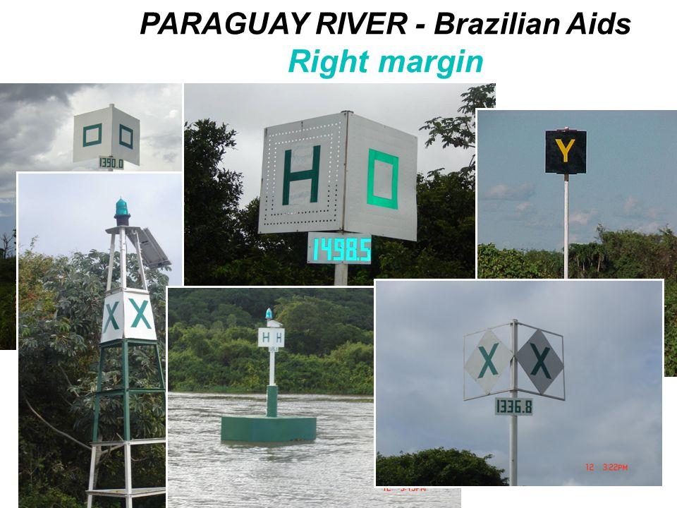 PARAGUAY RIVER - Brazilian Aids Right margin