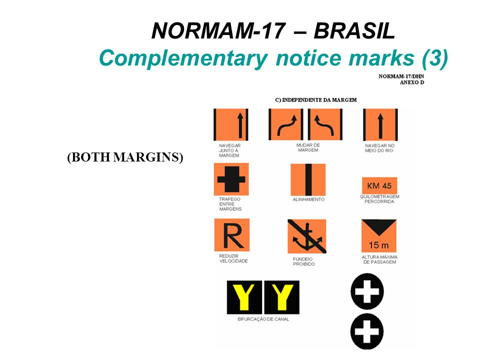 C_ASSO CTNARE INFORM = BCNSPP (master) BCNSHP = 1 CATSPM = 37 COLOUR = daymar (slave) TOPSHP = 19 COLOUR = x,x sympat = marsys = yy INFORM = PICREP = BCNSPP (master) BCNSHP = 1 CATSPM = 54 COLOUR = daymar (slave) TOPSHP = 19 COLOUR = 2,6 sympat = xx marsys = yy INFORM = PICREP = C_ASSO NAVLNE CATNAV = 3 ORIENT = xxx BCNSPP (master) BCNSHP = 1 CATSPM = 16 COLOUR = daymar (slave) TOPSHP = 19 COLOUR = x,x sympat = marsys = yy INFORM = PICREP = Brazilian National Waterways DHN trial (part 4)