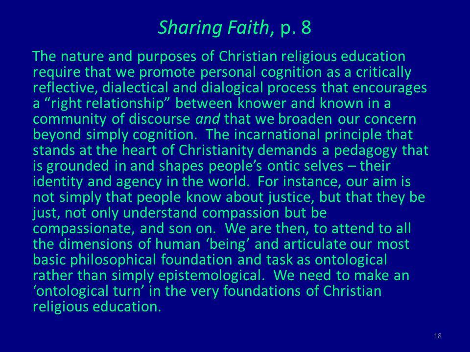 18 Sharing Faith, p.