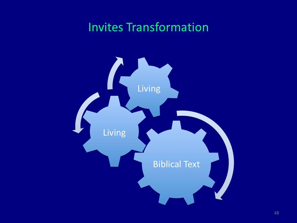 48 Invites Transformation