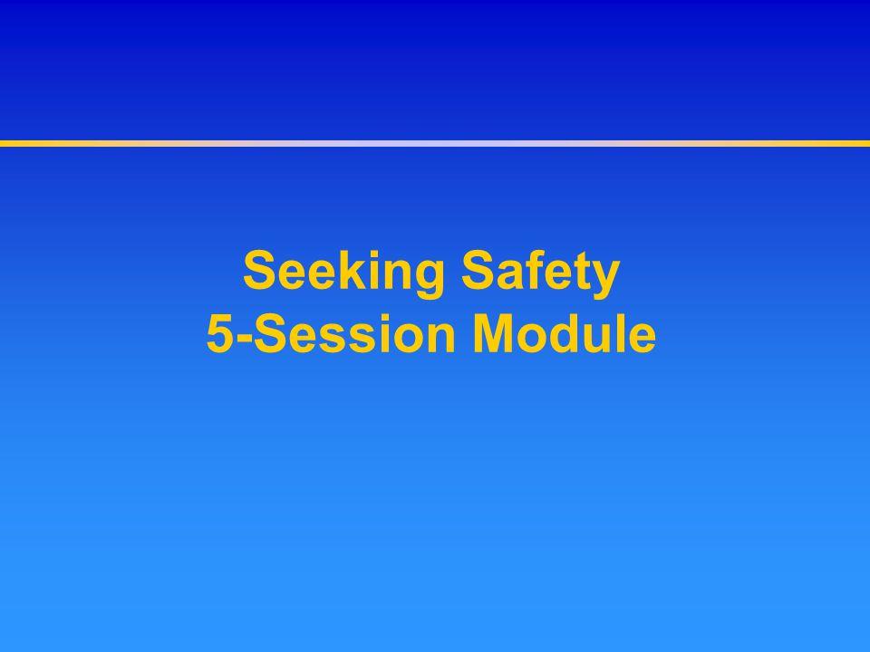 Seeking Safety 5-Session Module