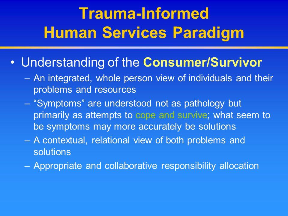 Screening/Diagnosis Issues PTSD Diagnostic Criteria 2.