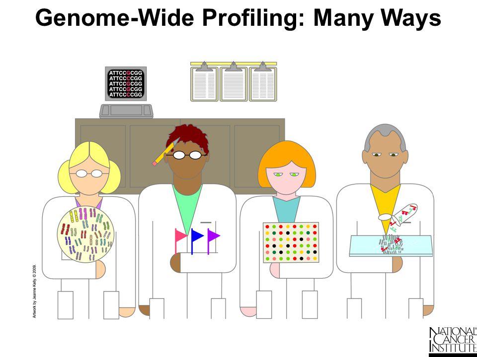 Genome-Wide Profiling: Many Ways