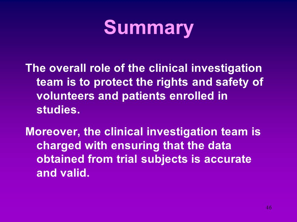45 An Answer  Investigator Certification AAPP - Certified Physician Investigator (CPI) ACRP - Certified Clin.