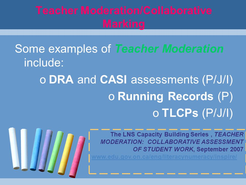 Informing Teaching with Data (cont'd) LNS What Works.