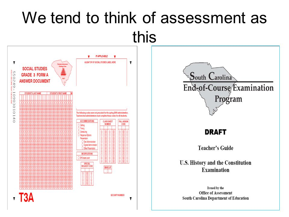 Large-scale statewide accountability tests are only a part of the total picture Stuart Kahl, Measured Progress