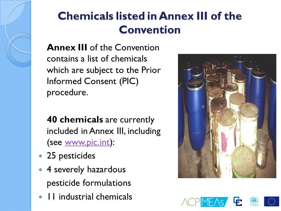 Example - Aldrin HS Codes: - 2903.52 (Pure substance) - 3808.50 (Mixtures, preparations containing substance) Full Name - 1,2,3,4,10,10-Hexachloro-1,4,4a,5,8,8a-hexahydro- - 1,4:5,8-dimethanonaphthalene Trade Names Aldrec; Aldrex; Aldrine; Aldrite; Aldrosol; Altox; Bangald; Compound 118; Drinox; HHDN; Octalene; Rasayaldrin; Seedrin Liquid.