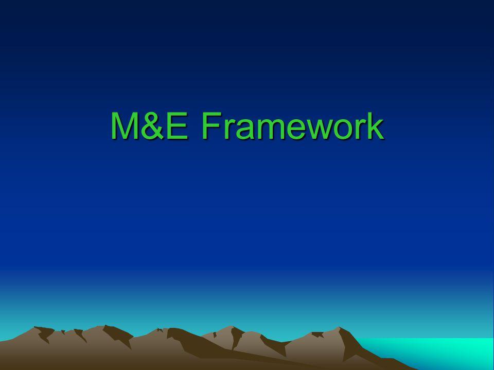 M&E Framework