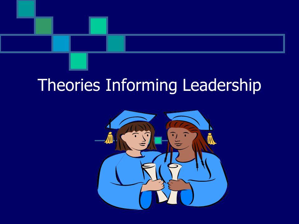 Theories Informing Leadership