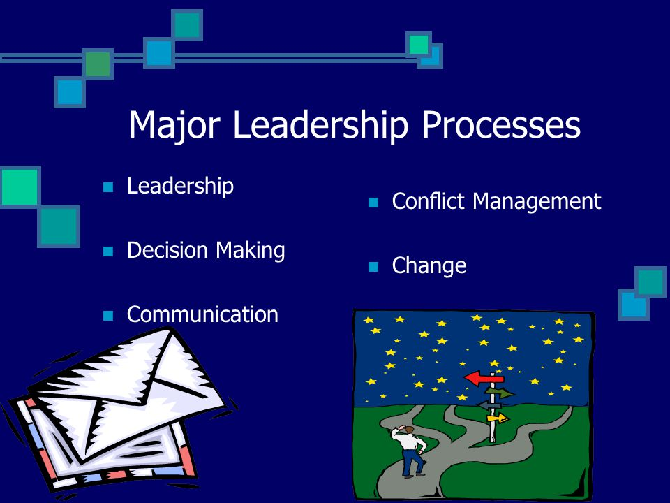 Major Leadership Processes Processes Used By School Leaders