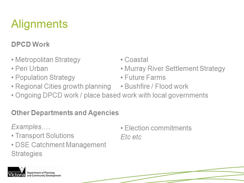 Program planning & resourcing How feasible is it to achieve the regional growth plans in 2 years.