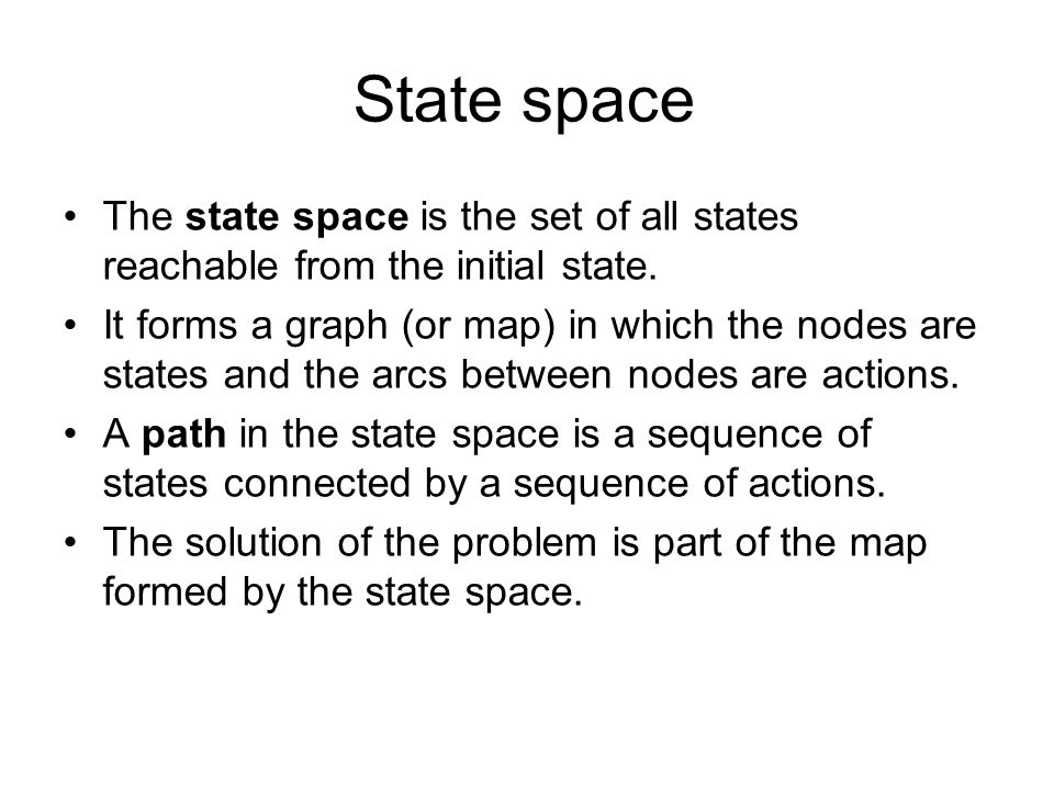 Example: Arad  Bucharest Current= Open_states.first()