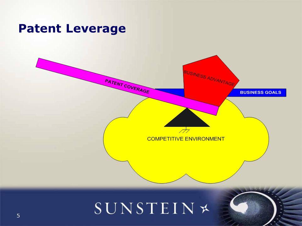 5 Patent Leverage